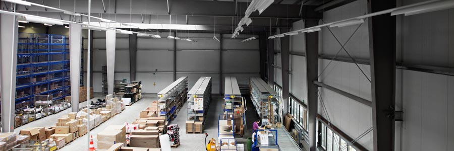 Logistikzentrum Cyberlogistics